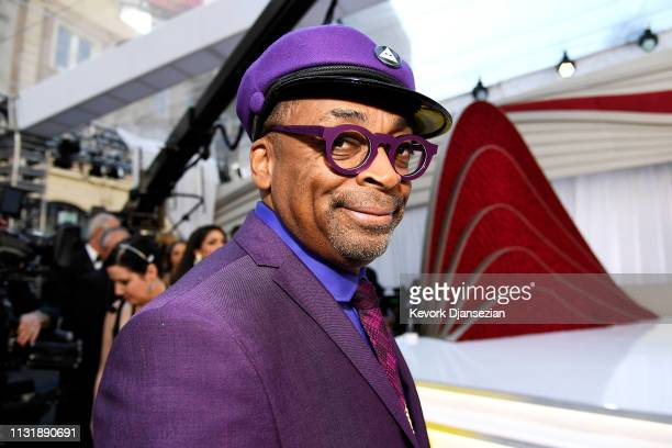 Spike Lee attends the 91st Annual Academy Awards at Hollywood and Highland on February 24 2019 in Hollywood California