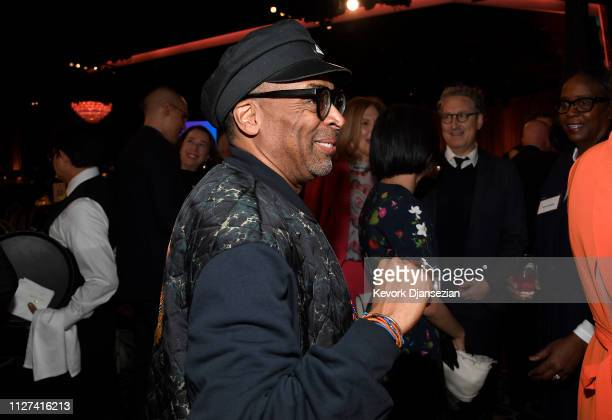 Spike Lee attends the 91st Oscars Nominees Luncheon at The Beverly Hilton Hotel on February 04 2019 in Beverly Hills California
