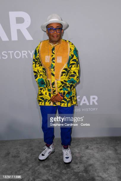 Spike Lee attends the amfAR Cannes Gala 2021 during the 74th Annual Cannes Film Festival at Villa Eilenroc on July 16, 2021 in Cap d'Antibes, France.