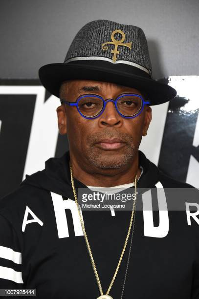 Spike Lee attends the 'BlacKkKlansman' New York Premiere at Brooklyn Academy of Music on July 30 2018 in New York City