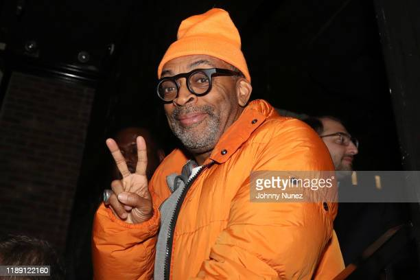 Spike Lee attends the Brooklyn Chop House One Year Anniversary Dinner on November 20 2019 in New York City