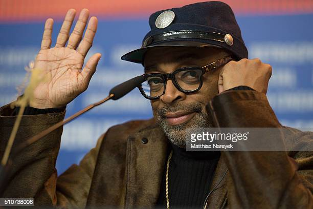 Spike Lee attends the 'ChiRaq' press conference during the 66th Berlinale International Film Festival Berlin at Grand Hyatt Hotel on February 16 2016...