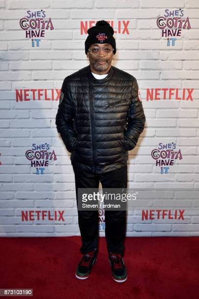 Spike Lee attends the Netflix Original Series 'She's Gotta Have It' Premiere at Brooklyn Academy of Music on November 11 2017 in New York City