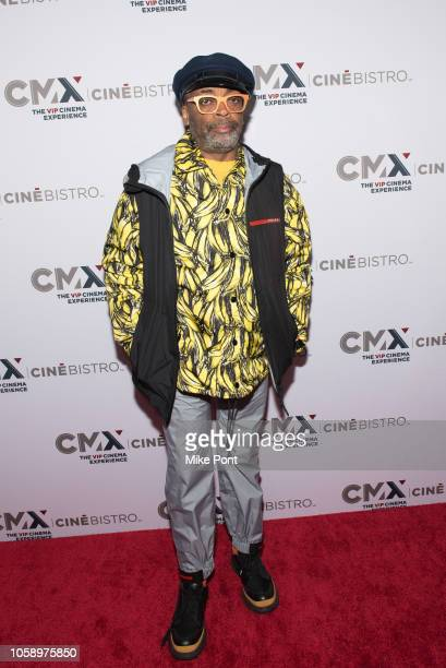 Spike Lee attends the opening of CMX CineBistro with special screenings of BlacKkKlansman City Lights Pretty Baby at CMX CineBistro on November 7...