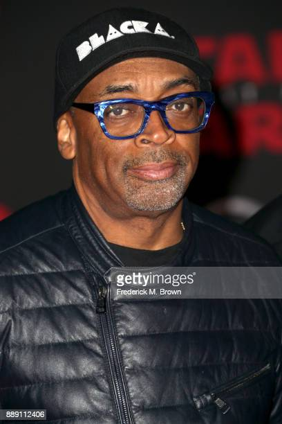 Spike Lee attends the premiere of Disney Pictures and Lucasfilm's 'Star Wars The Last Jedi' at The Shrine Auditorium on December 9 2017 in Los...