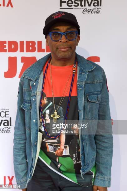 Spike Lee attends the Premiere Of Netflix Original Film The Incredible Jessica James At The 2017 Essence Festival on July 1 2017 in New Orleans...