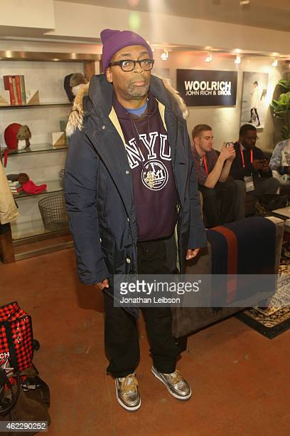 Spike Lee attends The Variety Studio At Sundance Presented By Dockers on January 25 2015 in Park City Utah