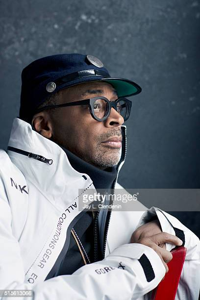 Spike Lee director of the film 'Michael Jackson's Journey from Motown to Off the Wall' poses for a portrait at the 2016 Sundance Film Festival on...