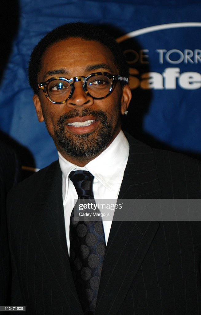 Spike Lee during Joe Torre Safe at Home Foundation's Second Annual Gala at Pierre Hotel in New York City, New York, United States.