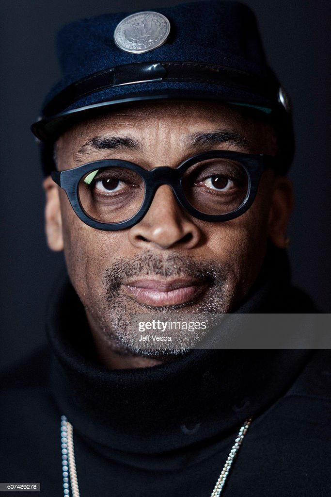 Spike Lee of 'Michael Jackson's Journey from Motown to Off the Wall' poses for a portrait at the 2016 Sundance Film Festival on January 23, 2016 in Park City, Utah.