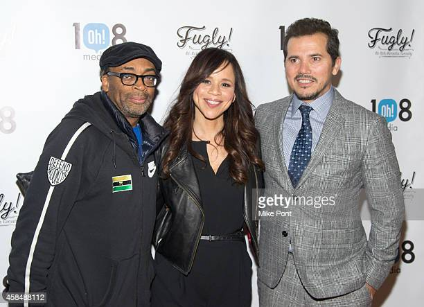 Spike Lee Rosie Perez and John Leguizamo attend the 'Fugly' New York Premiere at AMC Empire on November 5 2014 in New York City