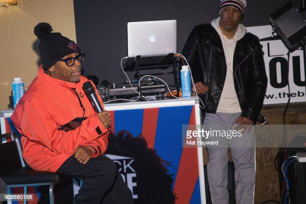 Spike Lee speaks during the 'She's Gotta Have It' brunch sponsored by Netflix at Buona Vita on January 22 2018 in Park City Utah