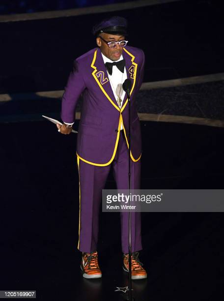 Spike Lee speaks onstage during the 92nd Annual Academy Awards at Dolby Theatre on February 09, 2020 in Hollywood, California.