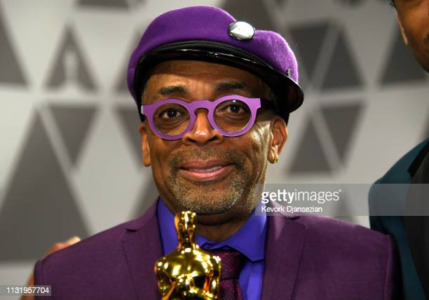 Spike Lee, winner of Adapted Screenplay for ''BlacKkKlansman,' attends the 91st Annual Academy Awards Governors Ball at Hollywood and Highland on...