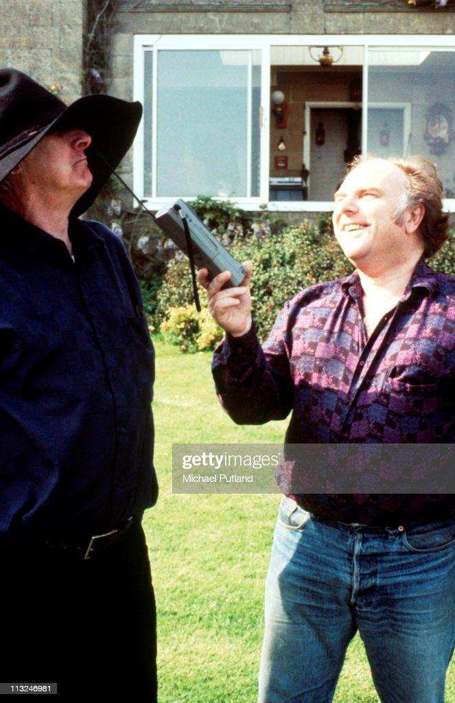 Spike Milligan And Van Morrison : News Photo