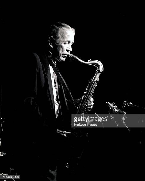 Spike Robinson, Ronnie Scott's, London, 1993. Image by Brian O'Connor.