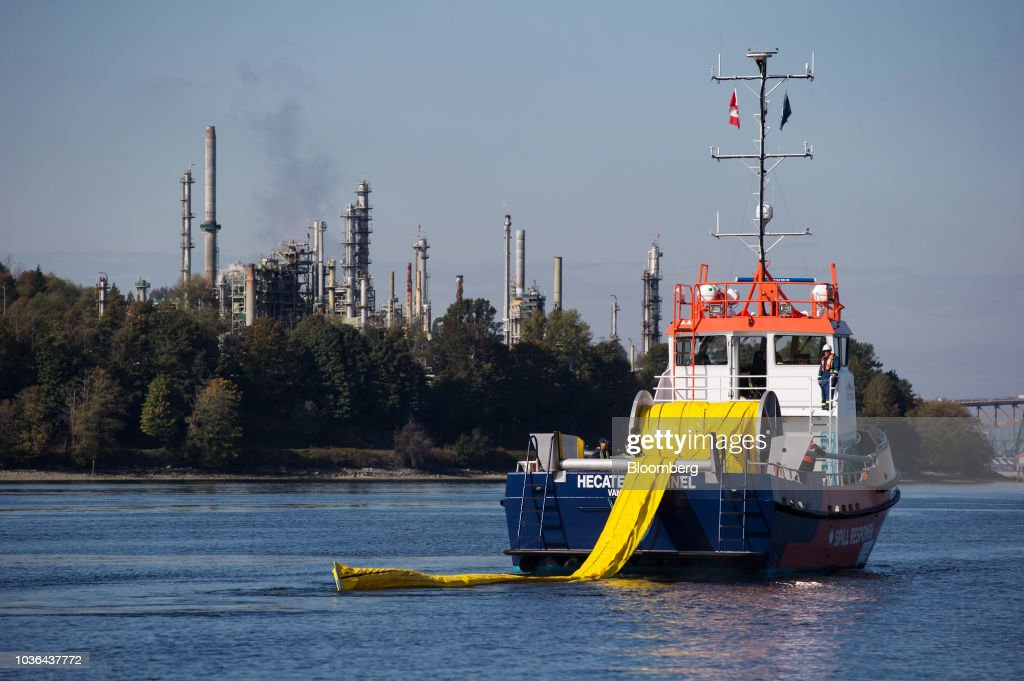 Trans Mountain Holds Westridge Marine Terminal Emergency Response Plan Exercise
