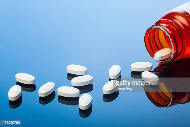 Spilled Prescription Drug Capsules