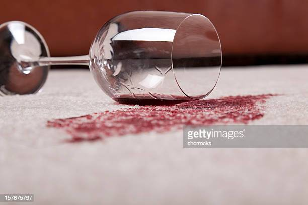 Spilled Wine in Living Room