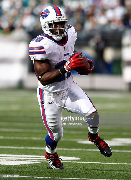 J Spiller of the Buffalo Bills runs against the New York Jets during their game at MetLife Stadium on November 27 2011 in East Rutherford New Jersey