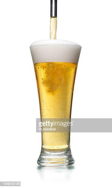 Spilling  beer