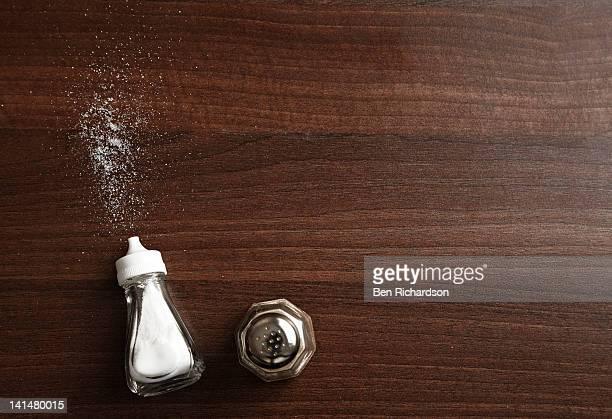 spilt salt