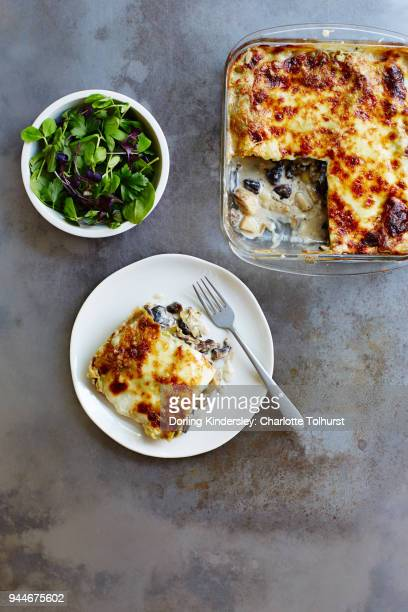 Spinach and Millet Lasagna 1