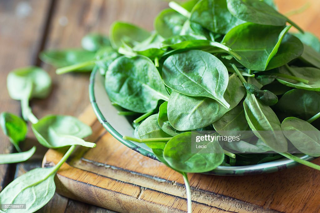 spinach : Stock Photo