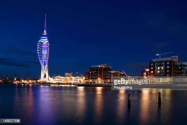 Spinakker Tower and Gunwharf Quays