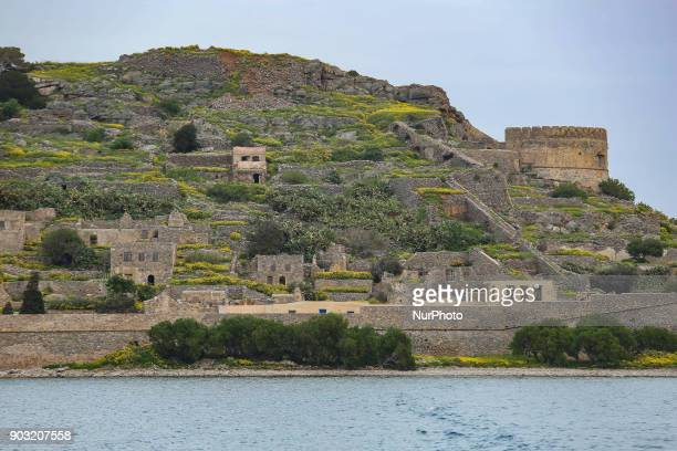 Spinalonga is an abandoned leper colony in Crete island in Greece There is old Venetian fortifications also The island was used as a leper colony...