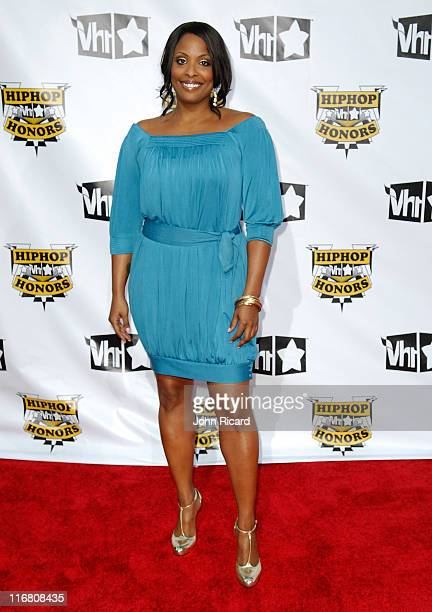 DJ Spinderella of SaltNPepa arrives at the 2007 Vh1 Hip Hop Honors at Hammersteing Ballroom on October 4 2007 in New York City