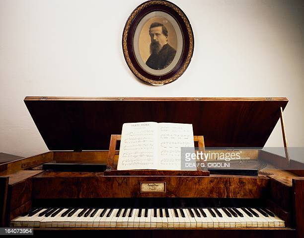 Spinet belonged to Amilcare Ponchielli Paderno Ponchielli Casa Museo Amilcare Ponchielli