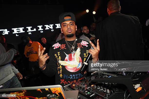 SpinKing spins at the New Year's Eve Preparty With Meek Mill on December 30 2016 in New York City