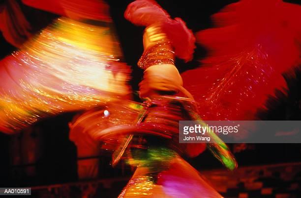 Spinning Brazilian Samba Dancer