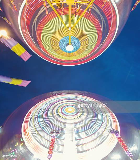 Spinning Carnival Rides