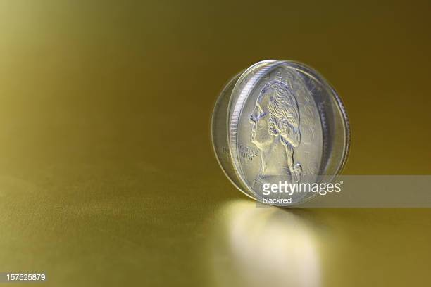 spinning coin - spinning stock pictures, royalty-free photos & images