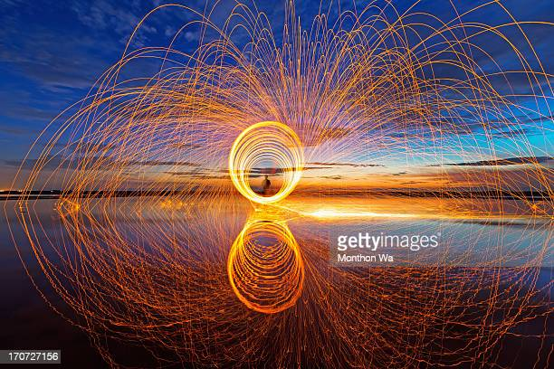 spinning reverse - sparks stock pictures, royalty-free photos & images