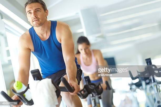 Spinning their way to toned bodies