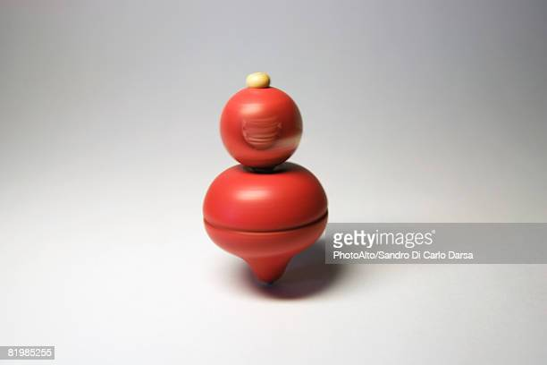 Spinning top, close-up