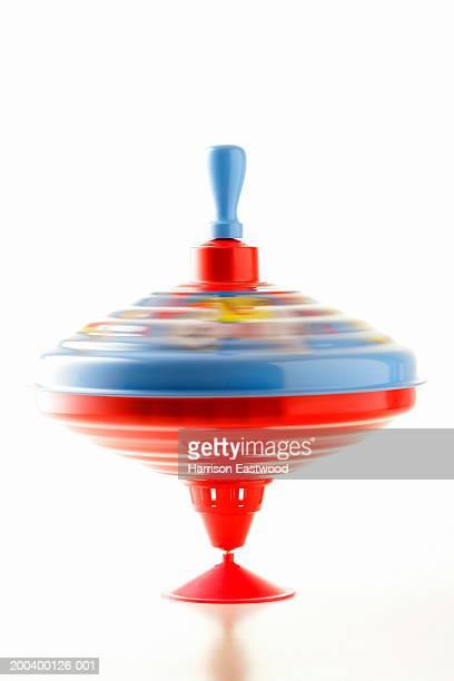 Spinning top (blurred motion)