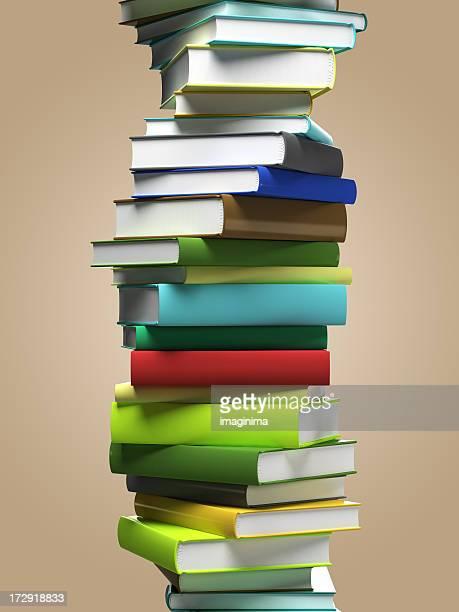 Spiral Book Stack