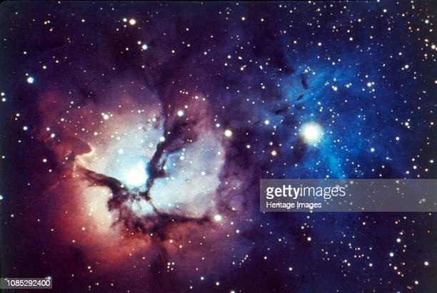 Spiral galaxy in Triangulum constellation. Artist NASA.