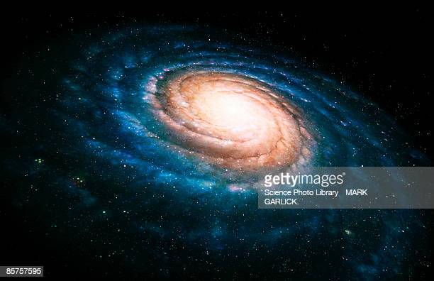 spiral galaxy - space exploration stock pictures, royalty-free photos & images