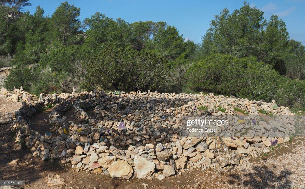 Spiral Of Life Atlantis Ibiza Island Stock Photo - Getty Images