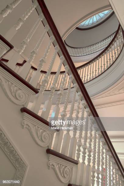 Spiral Staircase at GEORGE EASTMAN HOUSE and International Museum of Photography & Film; located at 900 East Avenue Rochester, New York. George Eastman was founder of the Eastman Kodak Company.
