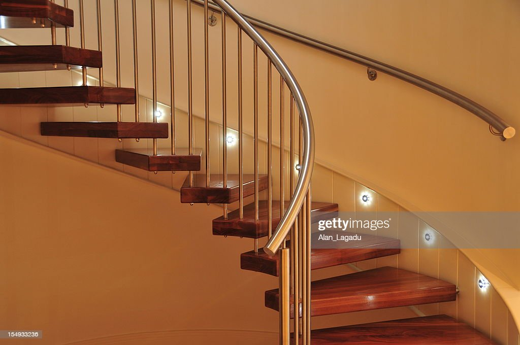Spiral staircase, Jersey. : Stock Photo