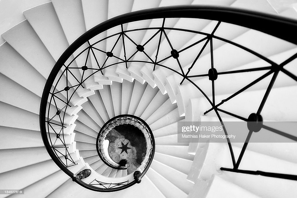 Spiral staircase : Stock Photo