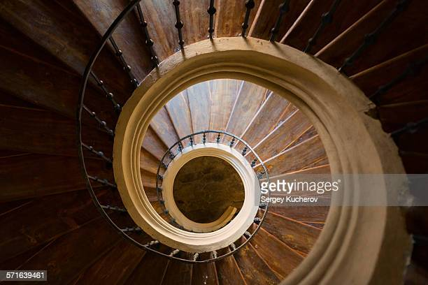 spiral stairs - 7894 stock pictures, royalty-free photos & images