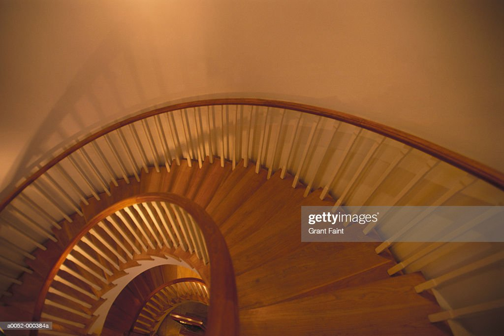 Spiral Stairway : Stock Photo