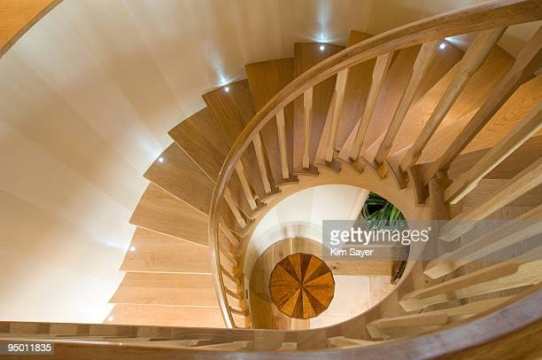 633 Spiral Staircase Wood Photos And Premium High Res Pictures Getty Images